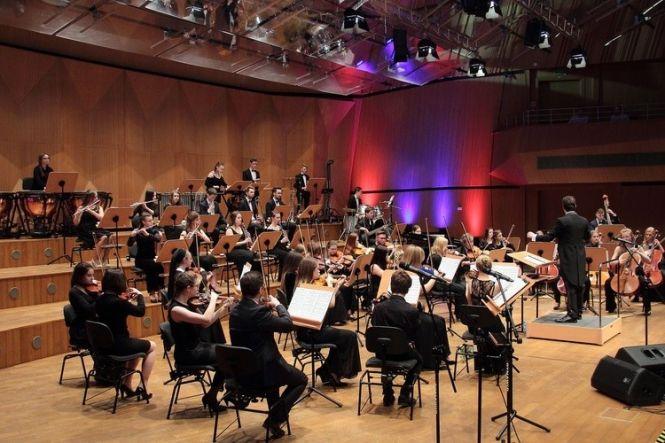 Koncert Słupskiej Sinfonietty w koszalińskiej filharmonii