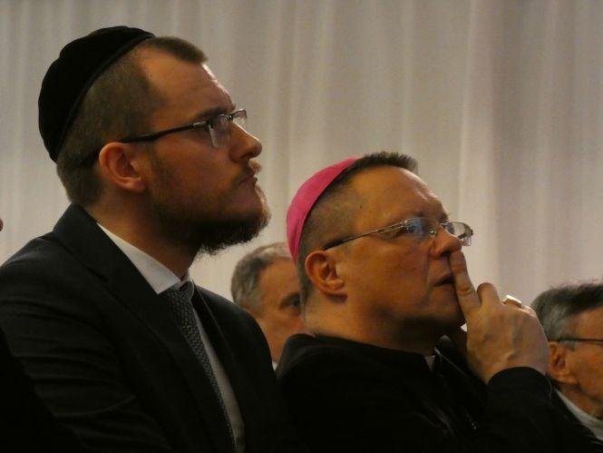 Dzień Judaizmu: abp Grzegorz Ryś i rabin Dawid Szychowski