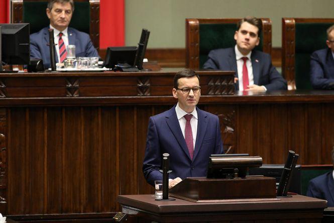 Exposé premiera Mateusza Morawieckiego w Sejmie