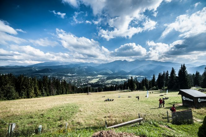 Widok na Tatry z Gubałówki