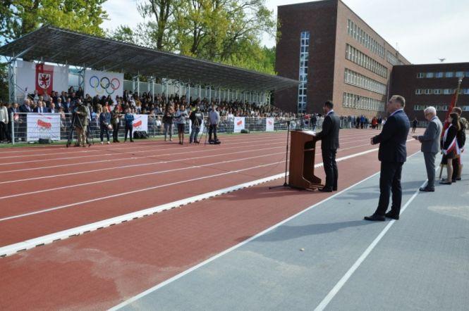 Otwarcie Stadionu Lekkoatletycznego im. Michała Barty  foto: www.powiat.kolobrzeg.pl