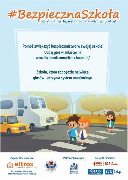 Akcja Bezpieczna szkoła w Koszalinie
