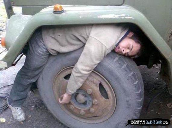 Też tak wyglądasz po tygodniu pracy?